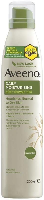 Aveeno Daily Moisturising Spray Dopo Doccia 48h 200 Ml