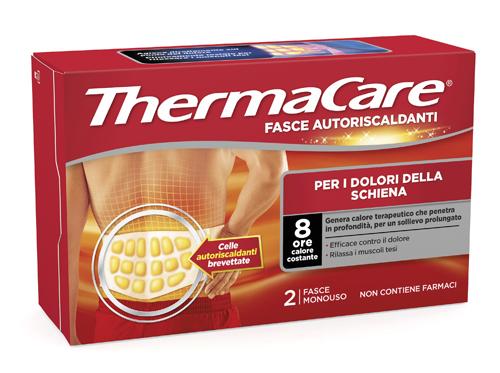 Angelini Fascia Autoriscaldante Calore Terapeutico Thermacare Schiena 2 Fasce
