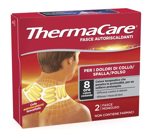 Fasce Autoriscaldanti Calore Terapeutico Thermacare Collo Spalla Polso 2 Fasce