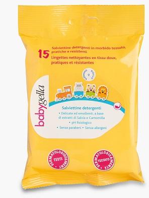 Meda Pharma Babygella Salviettine Detergenti Per 15