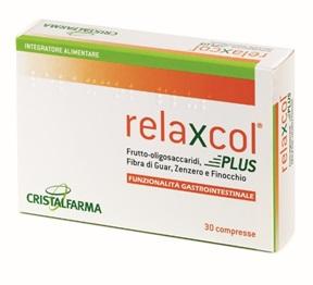 Cristalfarma Linea Benessere Intestinale Relaxcol Plus 30 Compresse