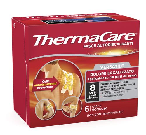 Fasce Autoriscaldanti Calore Terapeutico Thermacare Fascia Versatile 6 Pezzi
