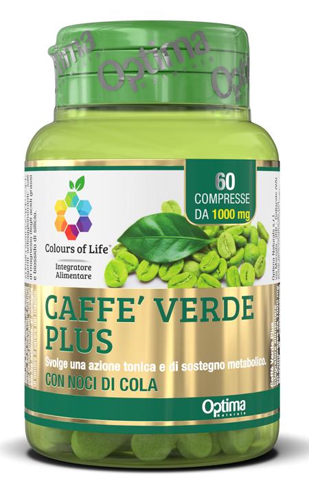 Optima Naturals Colours Of Life Caffe' Verde Plus 60 Compresse 1000mg