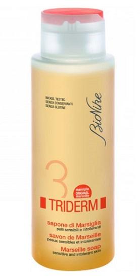BioNike Triderm Linea Detergenza Quotidiana Sapone Liquido di Marsiglia 500 ml