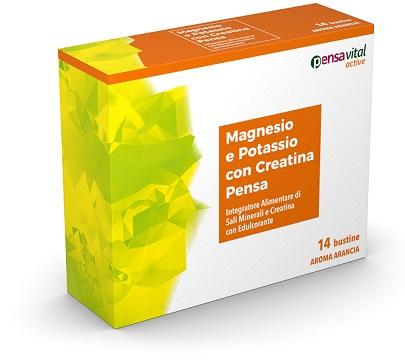 Pensa Pharma Magnesio E Potassio Con Creatina 14 Bustine Arancia