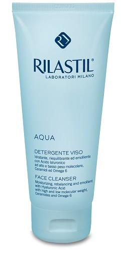 Rilastil Aqua Detergente Viso Idratante e Riequilibrante 200 ml