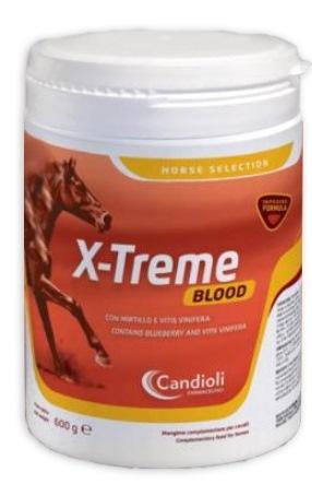 Candioli Ist.profil.e Farm. X-treme Blood 600 G Cavalli