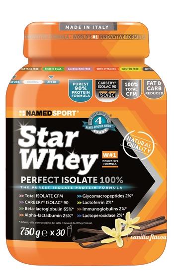 Named Sport Star Whey Perfect Isolate 100 Vanilla 750 g