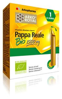 Arkofarm Arkoroyal Pappa Reale Bio 1500 Mg 10 Flaconcini Monodose 15 Ml