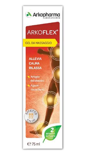 Arkofarm Arkoflex Crema Massaggio Effetto Caldo 75 Ml