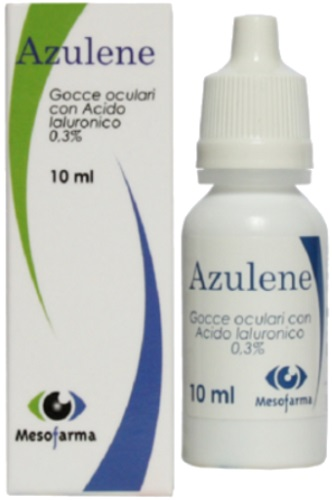 Mesofarma Azulene Gocce Oculari 10 Ml