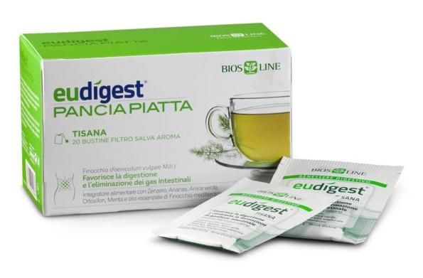 Bios Line Biosline Eudigest Tisana Dopopasto 20 Buste 40 G