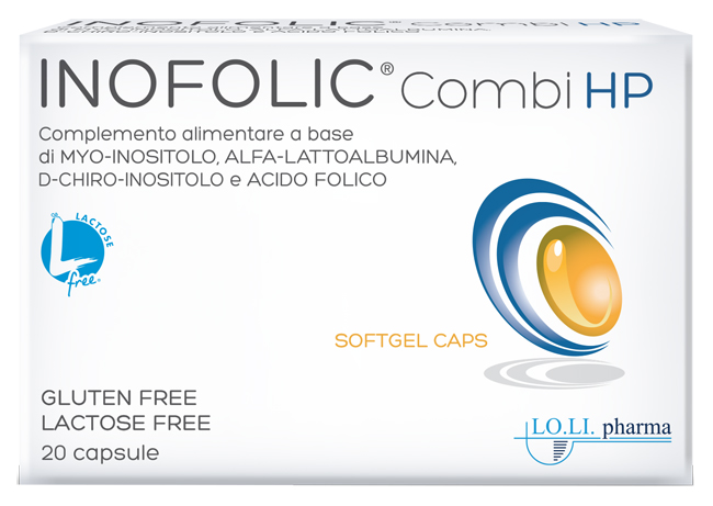 Lo.li.pharma Inofolic Combi Hp 20 Capsule