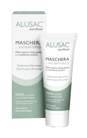 Skinius Alusac Maschera 75 ml