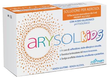 Corman Arysol Kids Sol Bambini 10f 5ml