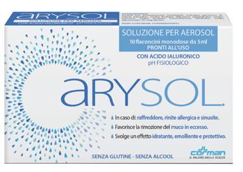 Corman Arysol Soluzione Adulti 10 fiale da 5ml