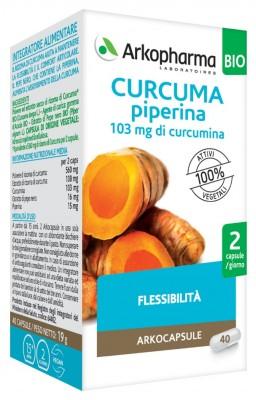 Arkofarm Arkocps Curcuma + Piperina Bio 40 Capsule
