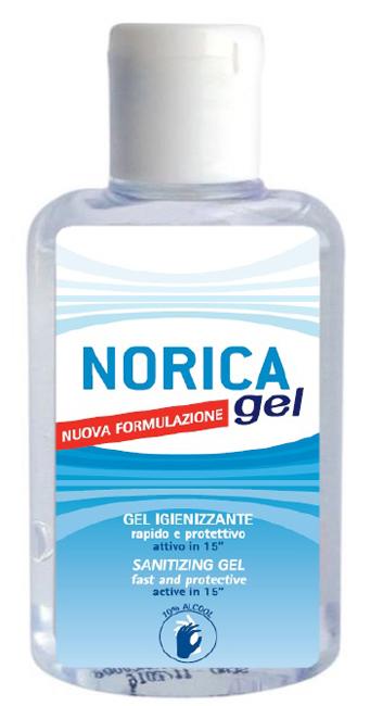 Polifarma Benessere Norica Gel Igienizzante Mani Nuova Formulazione 80 Ml