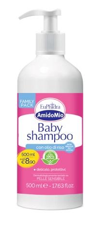 Zeta Farmaceutici Euphidra Amidomio Baby Shampoo 500 Ml