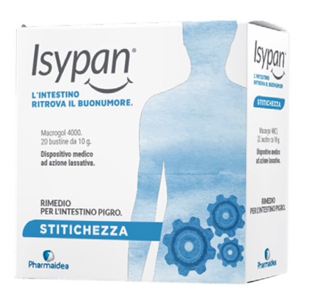 Pharmaidea Isypan Stitichezza Macrogol 4000 20 Bustine