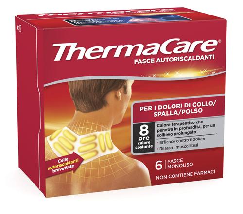 Fasce Autoriscaldanti Calore Terapeutico Thermacare Collo Spalla Polso 6 Fasce