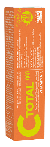 Phyto Garda C Total 1000 Vitamina C 20 Compresse Effervescenti