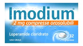 Imodium 2 Mg Compresse Orosolubili 12 Compresse