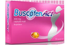 Buscofenact 400 Mg Capsule Molli 12 Capsule In Blister Pvc/Pe/Pvdc-Al