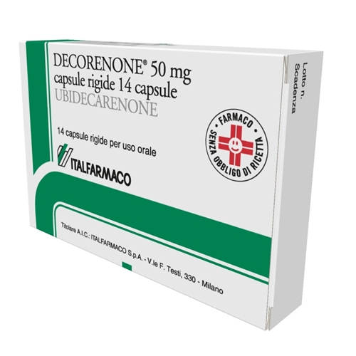Decorenone 50 50 Mg Capsule Rigide 14 Capsule