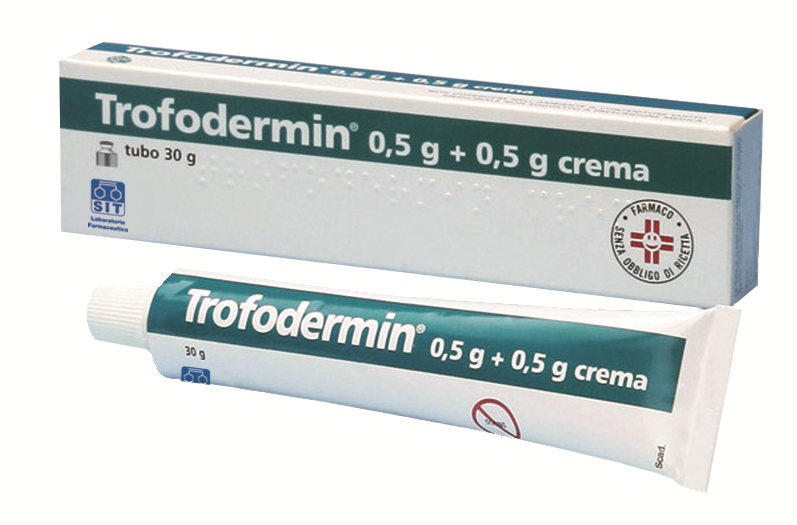 Trofodermin 0,5 G + 0,5 G Crema Tubo 30 G
