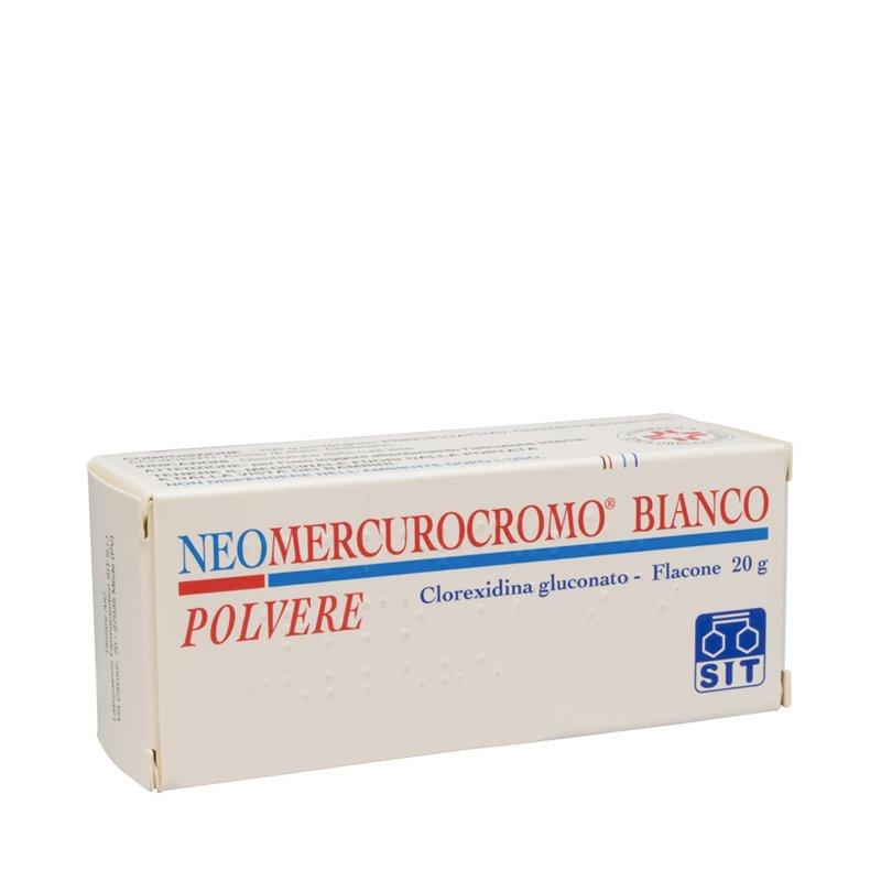 Neomercurocromo Bianco Polvere Flac 20 G