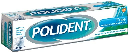 Glaxosmithkline C.health. Polident Free Adesivo Per Protesi Dentaria 40 G