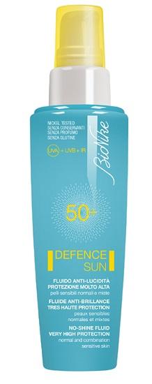 Bionike Defence Sun 50+ Fludio Anti Lucidita' Protezione Molto Alta 50 Ml