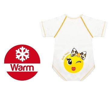 Body 0 36 M Caldo Cotone Warm Baby Smile Fiocchettina