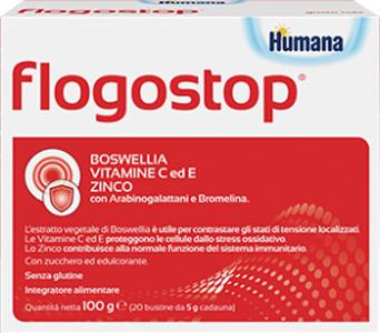 Humana Italia Flogostop Humana 20 Bustine 5 G