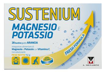 A.menarini Ind.farm.riun. Sustenium Magnesio Potassio 28 Bustine 112 G Promo