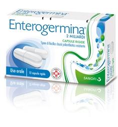 Enterogermina 2 Miliardi Capsule Rigide 12 Capsule