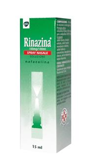 Rinazina 100 Mg/100 Ml Spray Nasale, Soluzione  Flacone 15 Ml