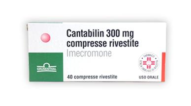 Cantabilin 300 Mg Compresse Rivestite 40 Compresse