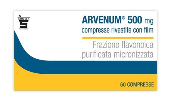 Arvenum 500 Mg Compresse Rivestite Con Film 60 Compresse