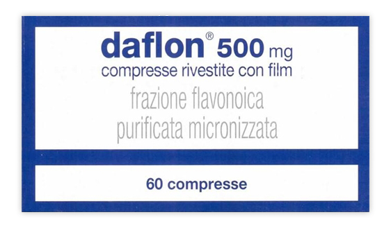 Daflon 500 Mg Compresse Rivestite Con Film 60 Compresse