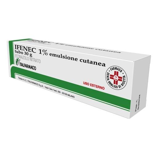 Ifenec 1% Emulsione Cutanea Tubo 30 G