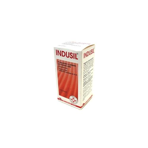 Indusil 30 Mg Polvere E Solvente Per Soluzione Orale 1 Flacone Polvere + 1 Contenitore Monodose 15 Ml