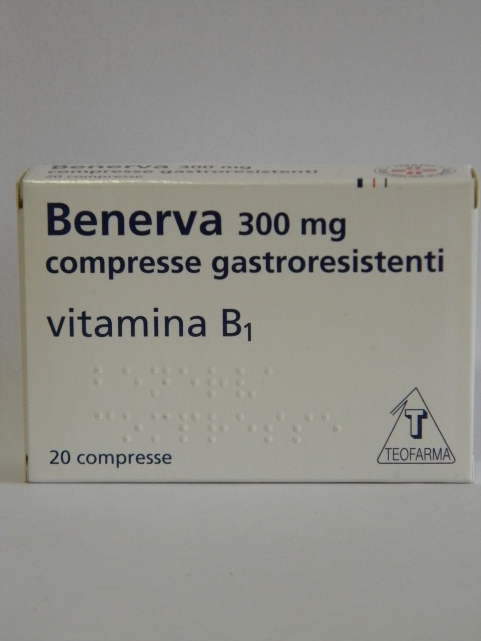 Benerva 300 Mg Compresse Gastroresistenti 20 Compresse