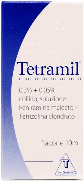Tetramil 0,3% + 0,05% Collirio, Soluzione Flacone Da 10 Ml