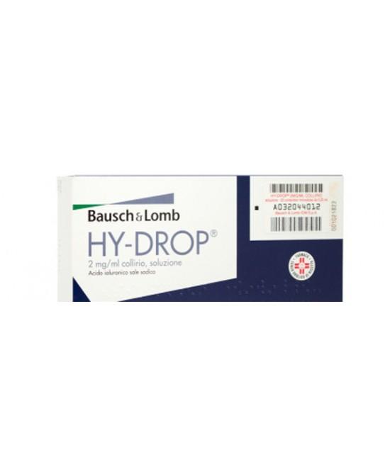 Hydrop 2 Mg/Ml Collirio, Soluzione 20 Contenitori Monodose 0,25 Ml