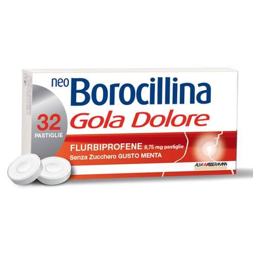 Neoboro Golado 8,75 Mg Pastiglie Senza Zucchero Gusto Menta 32 Pastiglie