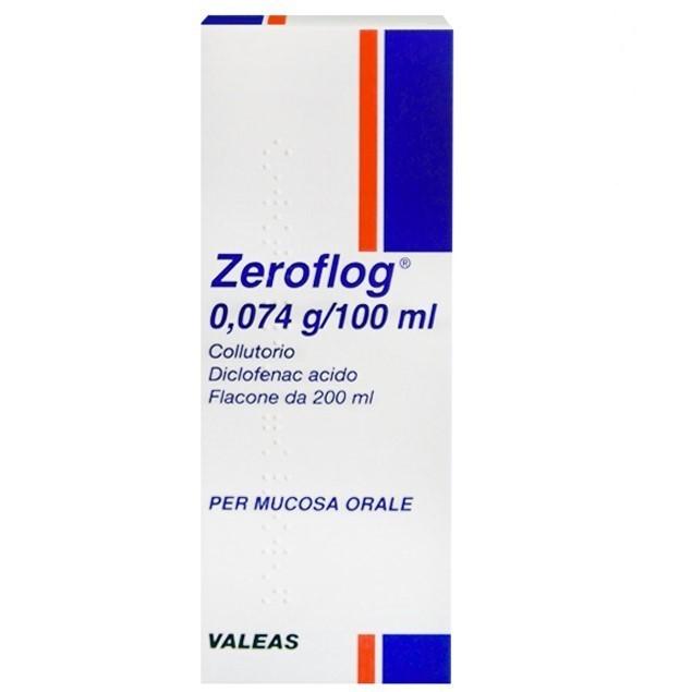 Zeroflog 0,074 G/100 Ml Collutorio 1 Flacone Da 200 Ml