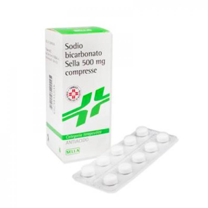 Sodio Bicarb 500 Mg Compresse 50 Compresse