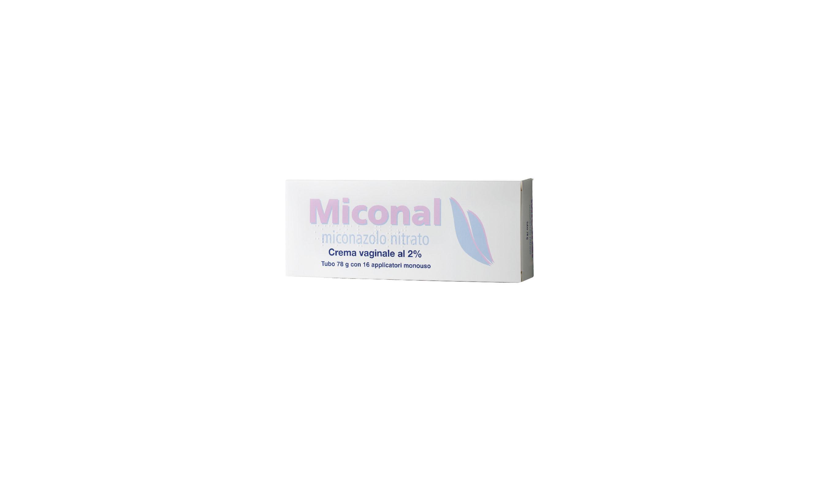 Miconal 2% Crema Vaginale Tubo 78 G